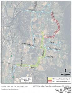 Phase 1: Napa County Map