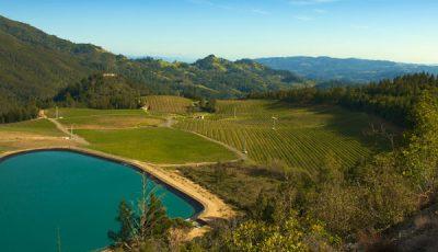 Vineyard Storage Pond